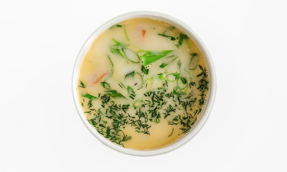 Суп Сливочный с лососем 350 г
