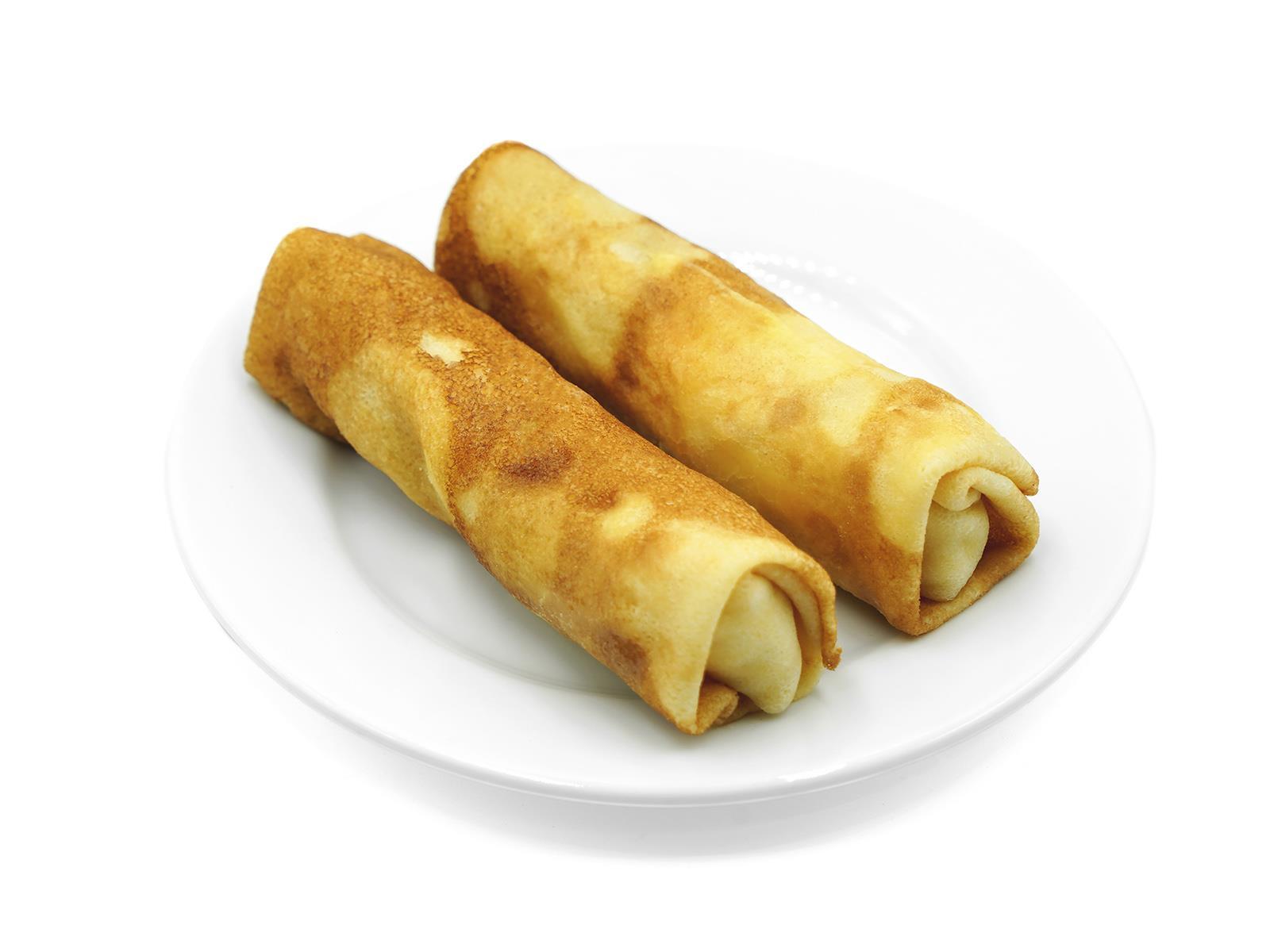 Блинчики с сыром и ветчиной 150/30 (гмс)