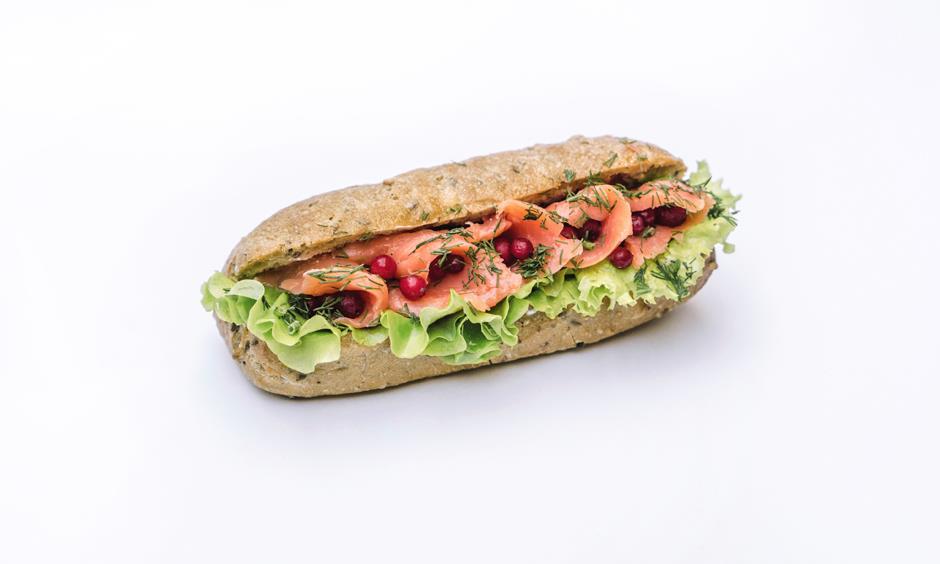 Сэндвич с лососем 220 г