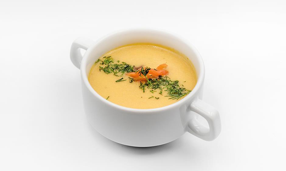 Суп-крем с лососем 200 г
