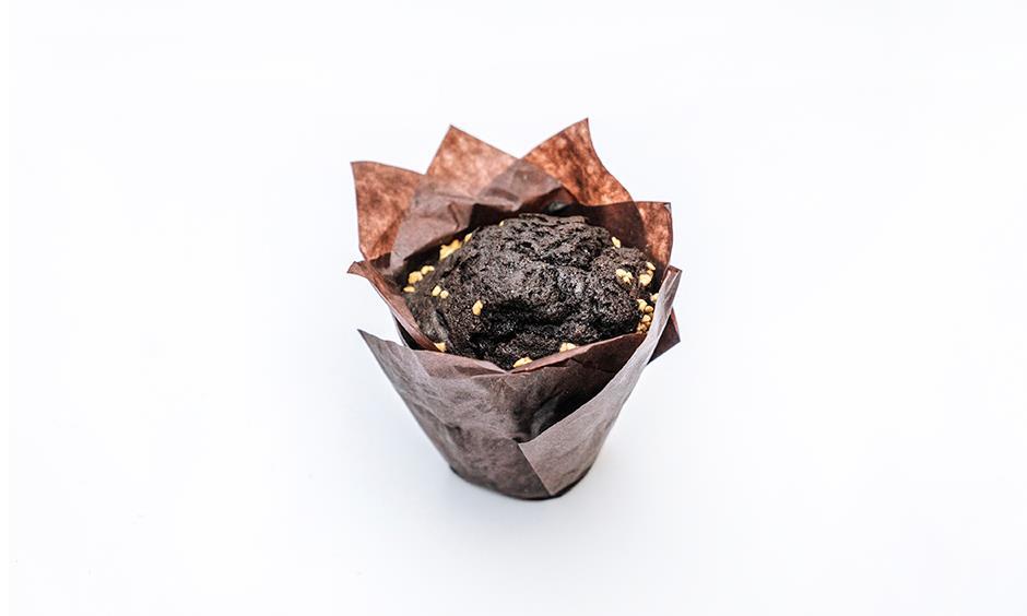 Маффин Шоколадный с вишней 160 г