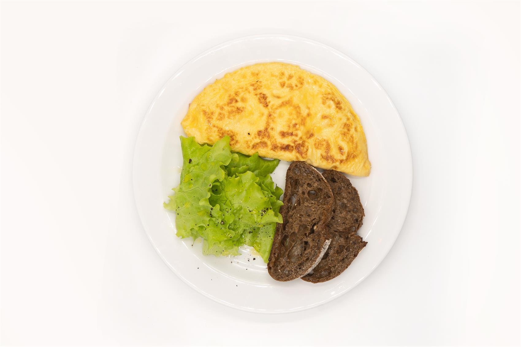 Омлет с ветчиной и сыром 200 г
