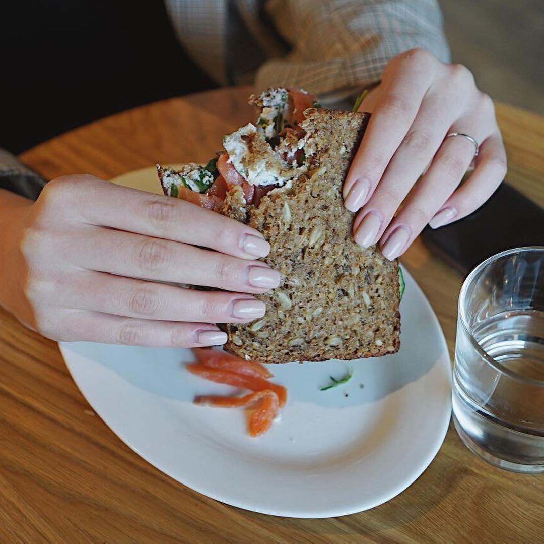 Новинка: кельтский сэндвич с лососем!