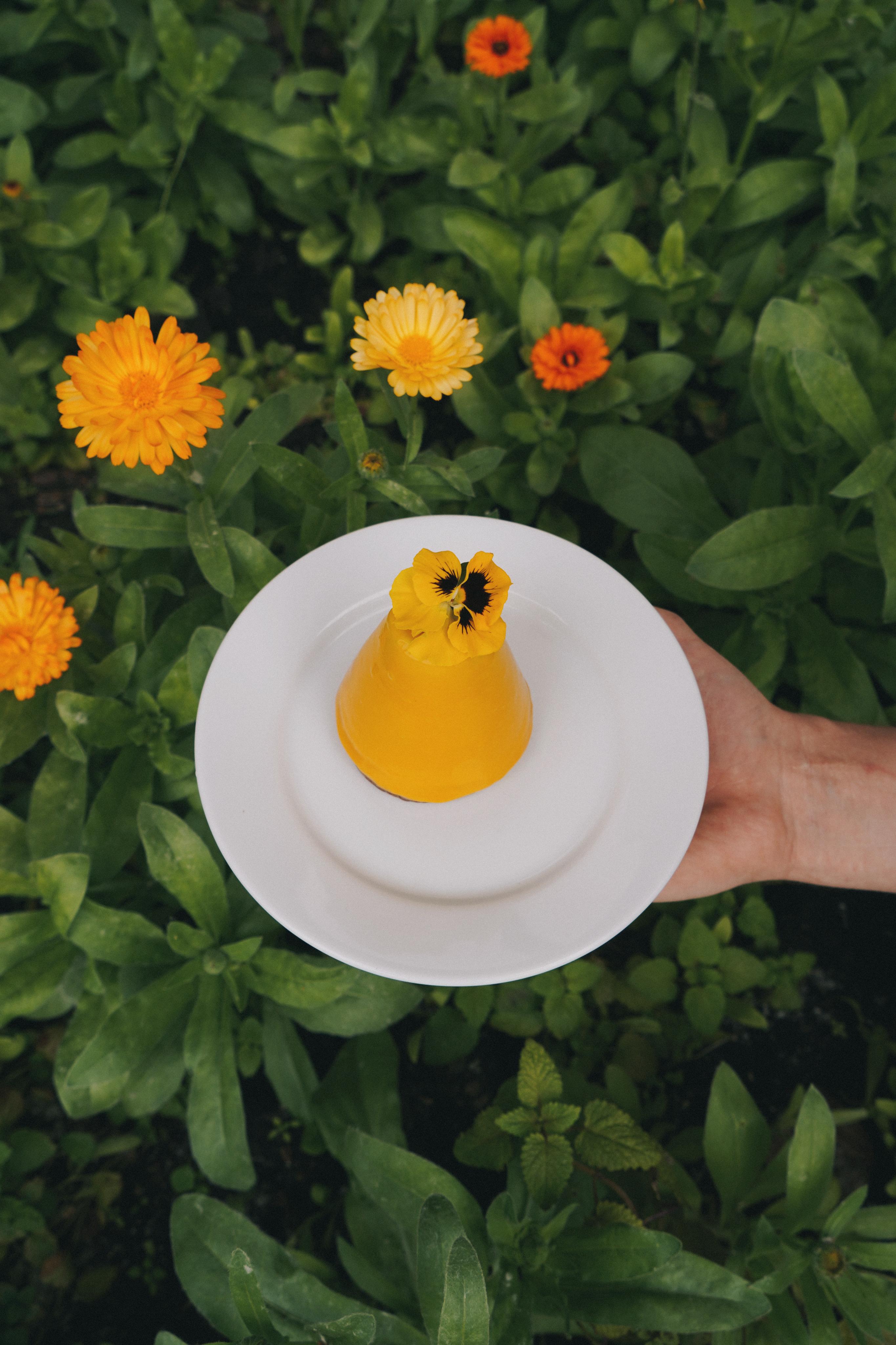 Новинка ограниченной серии – пирожное Лиграна Манго!