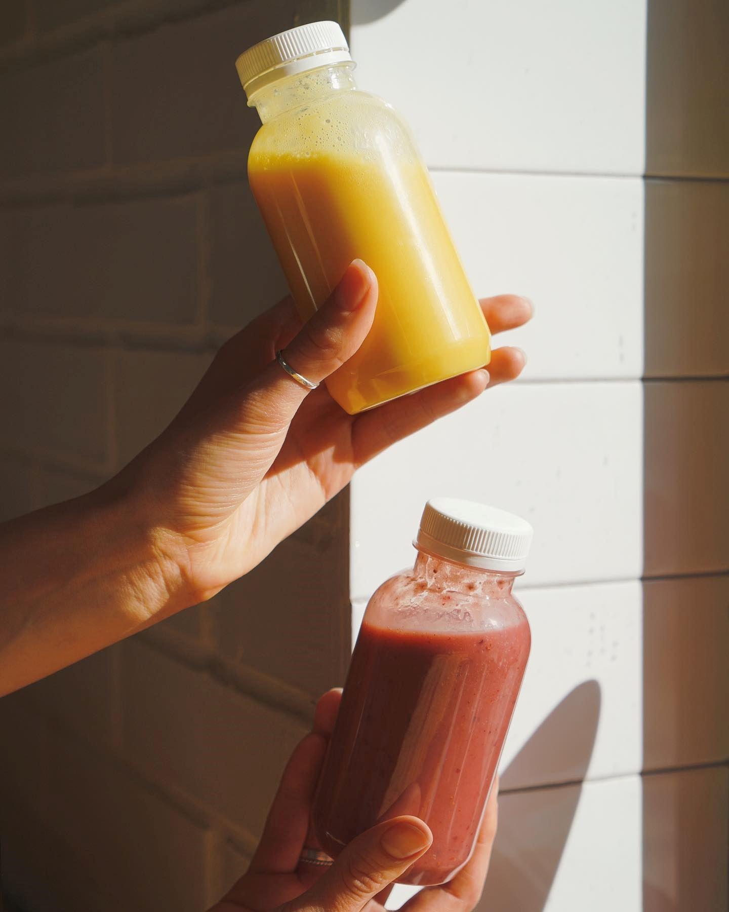 Доставка фруктово-ягодных смузи
