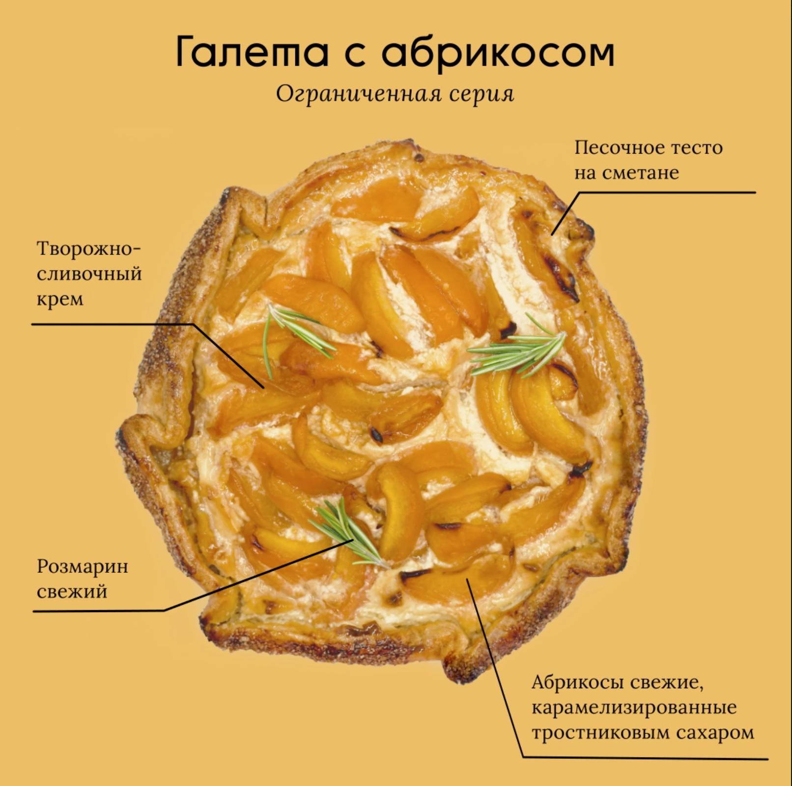 Лимитированная новинка – Галета с абрикосом!